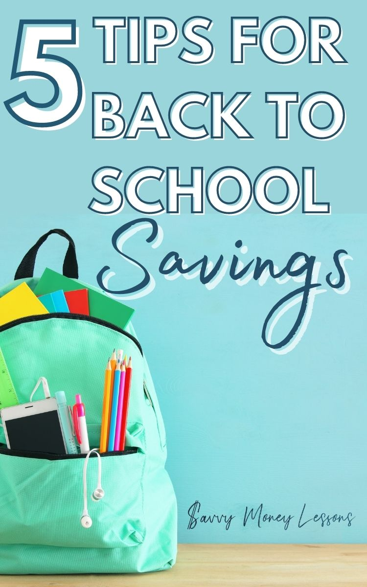 Tips for Back to School Savings